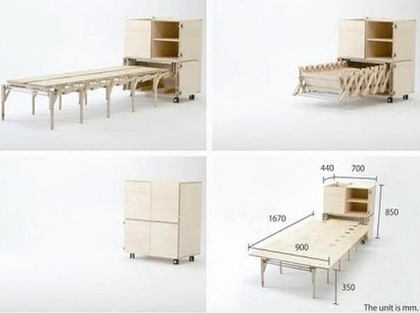 Muebles geniales para una casa especial bast simo - Muebles convertibles ...