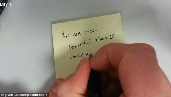 Eres más bella de lo que jamás pude imaginar. Día 1.