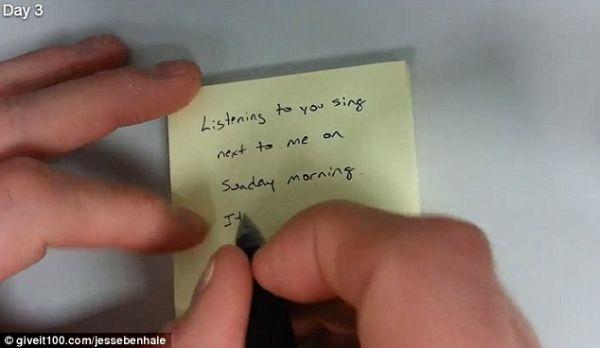 """""""Escucharte cantar a mi lado el domingo por la mañana, simplemente no hay nada mejor."""" Día 3."""