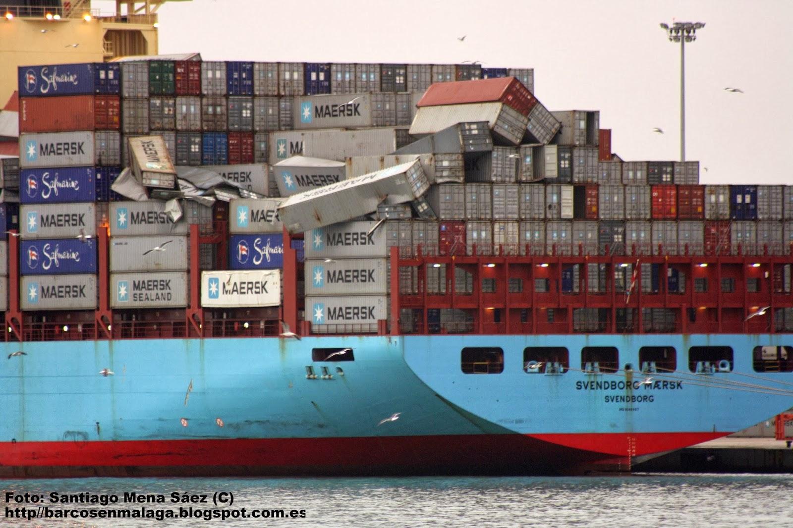 520 contenedores perdidos por una terrible tormenta bast simo - Contenedores de barco ...