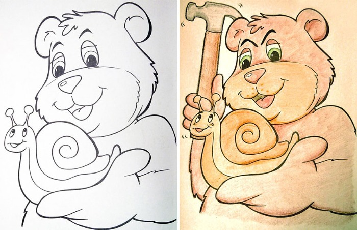 coloring pages gone bad - photo#10