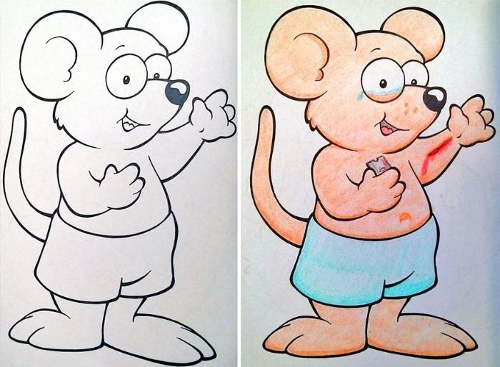 Cuadernos Infantiles Para Colorear Corrompidos | Bastísimo