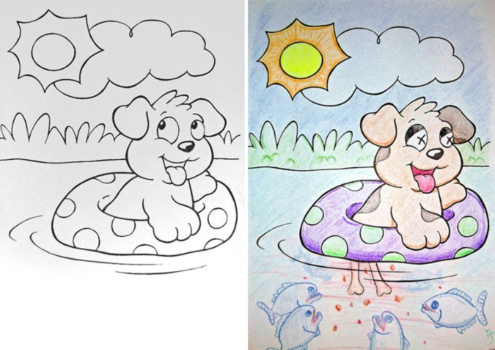 coloring pages gone bad - photo#4