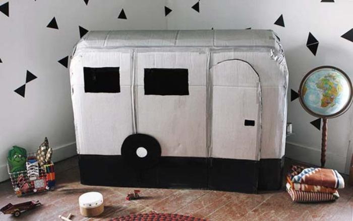 ideas de almacenamiento de juguetes para bebés 28 Ideas Para Sorprender A Tus Nios Con Cajas De Cartn