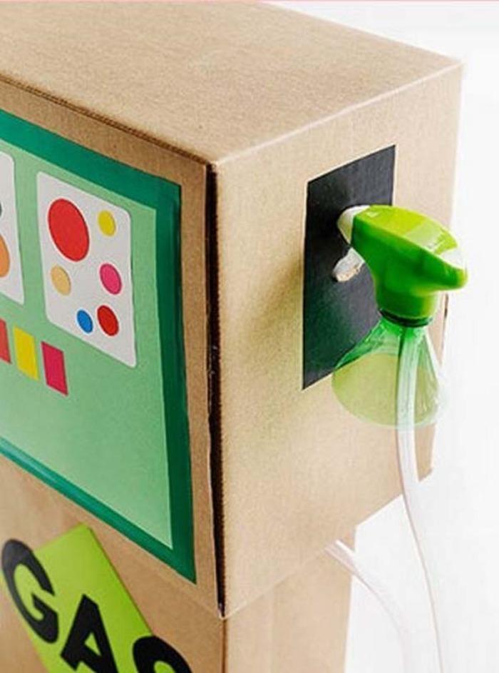 Cool Toy Box For Boys : Ideas para sorprender a tus niños con cajas de cartón