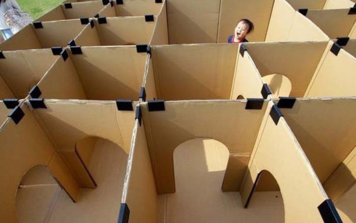 28 Ideas Para Sorprender A Tus Niños Con Cajas De Cartón