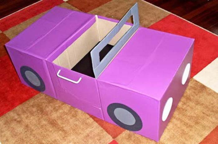 ideas para sorprender a tus niños con cajas de cartón | Bastísimo