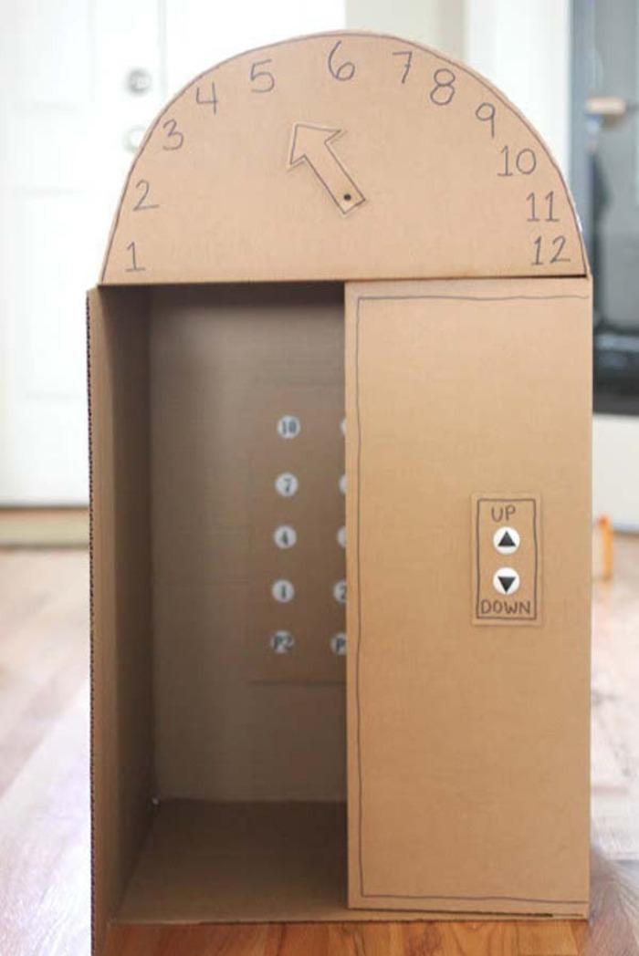 28 ideas para sorprender a tus ni os con cajas de cart n for Time to build a house
