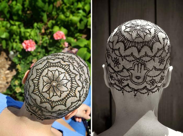 Tatuajes De Henna Que Ayudan A Pacientes De Cancer Bastisimo