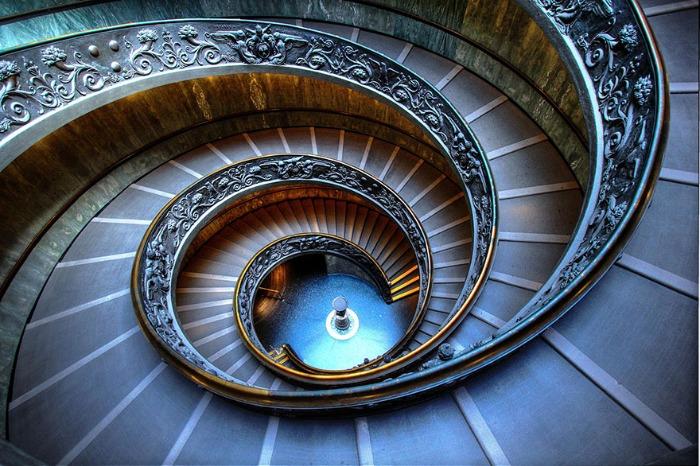 Geniales fotograf as de escaleras en espiral te - Escalera en espiral ...