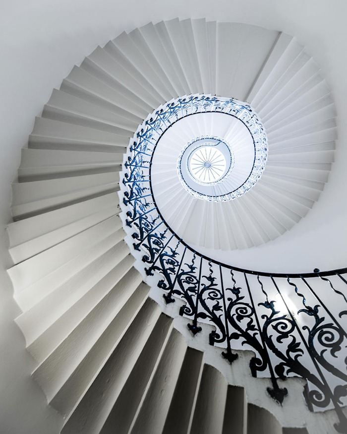 Geniales Fotografias De Escaleras En Espiral Te Hipnotizaran Bastisimo - Escaleras-en-espiral