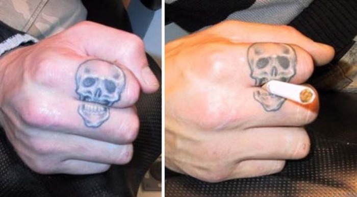30 tatuajes creativos que interact an con el cuerpo for Tumblr tit tattoo